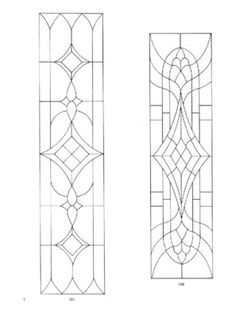 page14Dover's door stained glass patterns