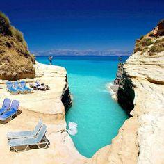 Island Korfu in Greece