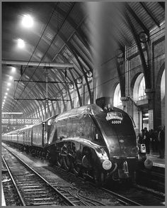 A4 Pacific 60009 Union of South Africa .. Kings Cross Station