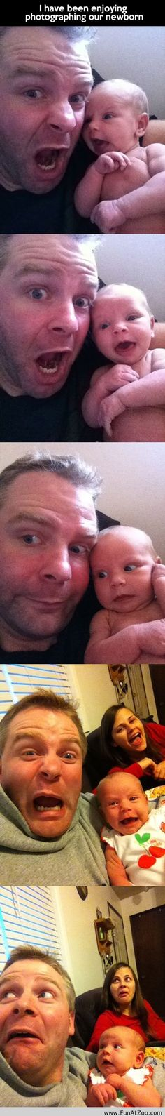 Funny pictures of a newborn baby - Funny Picture