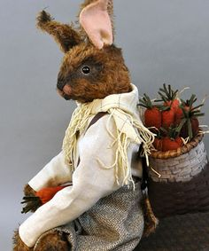 Rickford Bellicose prided himself on the girth and firmness of his carrots, but felt that the ladies often overlooked his knitting skills and the dashing ways that he complemented his ensembles with his impressive collection of scarves.  TX:  Lori Ann Corelis