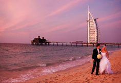 #Dubai spiaggia tramonto