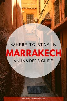 The ultimate Marrakech, Morocco travel guide. Where to stay in Marrakech, things to do inMarrakech #Marrakech #Morocco