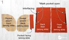 tutorial bolsillo para abrigo - 1