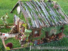 Fairy House | Our Homemade Fairy House :) | Flickr - Photo Sharing!