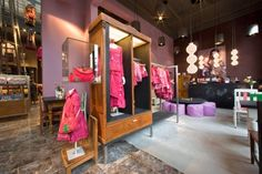 Oilily flagship store by UXUS, Antwerp – Belgium
