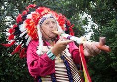 Say What? UK Man Quits Job to 'Become' Native American