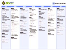 30-Day Healthy Meal Plan | 30 Day Meal Plan