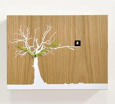 Tree cuckoo clock by ricardo paolino