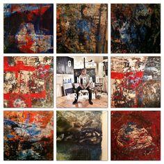 """Oljemalerier til konseptserien """"Painted Dreams"""". En serie jeg startet på i oktober 2014 og som jeg maler på fortsatt i januar 2015. Utgangspunktet for disse maleriene er å visualisere mine drømmer – gode som dårlige...""""Painted Dreams"""" består av til nå 15 malerier.  Oil paintings from the series """"Painted Dreams"""" - 2014-2015."""