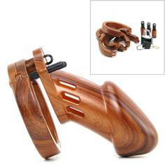 Gabbia di castità legno – Sexy Vibes