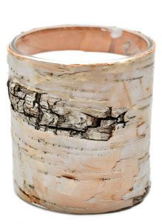 Birch Bark Candle by Leif
