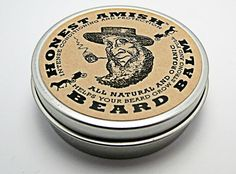 Honest Amish Beard Balm - Leave-in Beard Conditioner and Tamer - All Natural and ORGANIC with Argan - THE BEST via Etsy.Joey will be needing this for his year long beard grow ; Beard Conditioner, Leave In Conditioner, Beard Shampoo, Amish Beard, Diy Beard Oil, Style Hipster, Unique Valentines Day Gifts, Beard Growth, Beard Grooming