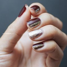 Oxblood and Gold with Formula X for Sephora