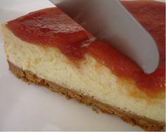 Cheesecake de goiabada no dia 12/05/2011