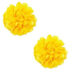 Forever 21 Floral Stud Earrings  Yellow ($5.90) ❤ liked on Polyvore featuring jewelry, earrings, colorful stud earrings, multicolor earrings, yellow jewelry, colorful earrings and multi color stud earrings