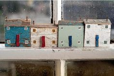 IT'S ALL about the little things in life for Liskeard mum Kirsty Elson who transforms pieces of driftwood into beautiful miniature houses. Along with her partner Steve and two sons, ten-year-old...