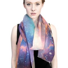 Sagan Galaxy Wool Scarf