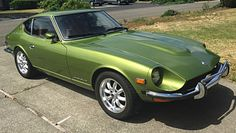 '73 240Z (You don't always get a second chance to own a great car twice. My first was an auto, then my stick on waiting list came in so I had two new Z's in this color. '72 and '73} - dwirak