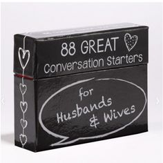 88 conversation starters for husbands and wivesfun and unexpected gift for any anniversary