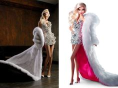 If It's Hip, It's Here: One Of A Kind Pink Diamond™ Barbie Doll by The Blonds Auctioned To Benefit Charity.