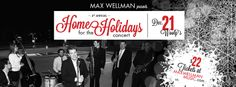 Happy December, Friends! We're 20 days out from the 4th annual 'Home for the Holidays' concert at #wooly's in Des Moines!   Get your $22 tickets at www.maxwellmanmusic.com & spread the word!