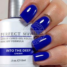 LeChat Perfect Match - Into the Deep - swatch by Chickettes.com