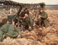 Argentinian artillery, Falklands war 1982, pin by Paolo Marzioli