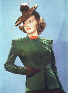 Bette Davis in suede by Silverbluestar, via Flickr