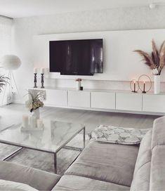 Decor Home Living Room, Simple Living Room, Elegant Living Room, Living Room Grey, Living Room Modern, Living Room Designs, Home Decor, Luxury Rooms, Living Room Inspiration