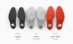 Swims - City Slippers by Work, via Behance