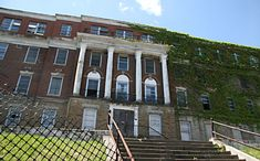 Hayswood Hospital, Maysville, Kentucky  -built in 1915, closed in 1983  -sounds of babies crying, ghost of woman who died in childbirth,screams,ghostly dogs seen,shadow figures