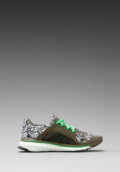 ADIDAS BY STELLA MCCARTNEY Trochilus Boost Sneaker in Lizard/Green Zest/Running White - adidas by Stella McCartney