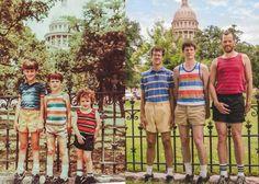 Increible ! Se fotografian exactamente como en la niñez - Taringa!