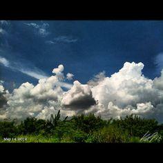 夏っ? #sky #cloud #summer #philippines #フィリピン #雲 #空