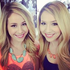 Stef and Tracy from eleventhgorgeous on YouTube. They're both so pretty!