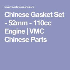 110cc Engine 52mm Chinese Gasket Set