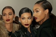 Joan Smalls, Chanel Iman, Jourdan Dunn