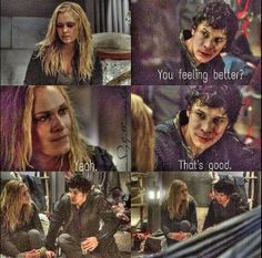 The 100 - Bellamy & Clarke #1.10