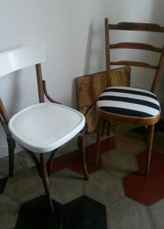 Recupero di vecchie sedie