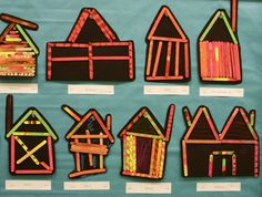 popsicle stick houses