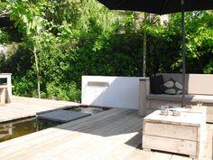 moderne tuin II - Water in de tuin | Tuinaanl
