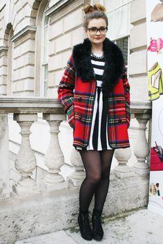 Fashion Blogger Tartan Inspiration