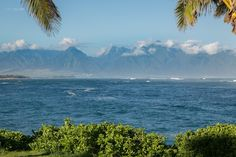 The West Maui mountain views from this oceanfront lot in Kuau are spectacular