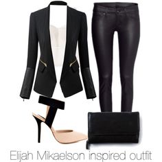 Elijah Mikaelson inspired outfit by carinast on Polyvore featuring H&M and Steven by Steve Madden