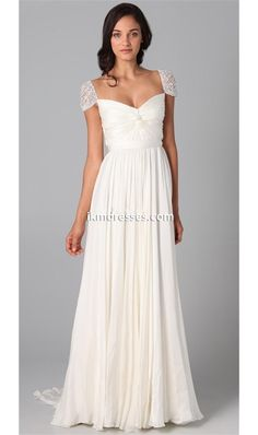 http://www.ikmdresses.com/Hot-Sale-A-line-V-neck-Floor-Length-Bridesmaid-Dress-Cap-Sleeve-Beading-Crystals-Maid-of-honor-Dress-Pleats-Prom-Party-Dress-p92202