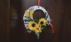 aranžovanie pletený kruh