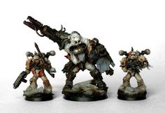 Chaos Lords of Decay Renegade Ogryn Beserker