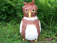 Owl pinata Pinned by www.myowlbarn.com