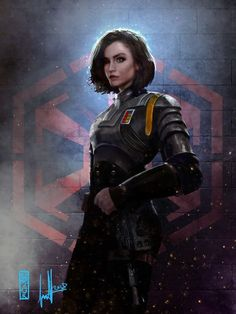Laralyn Senna commission by DavidSondered - Star Wars Canvas - Latest and trending Star Wars Canvas. Star Wars Fan Art, Rpg Star Wars, Star Wars Concept Art, Star Wars Rebels, Star Wars Characters Pictures, Star Wars Images, Sci Fi Characters, Star Citizen, Inspiration Drawing